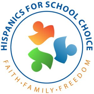 Hispanics for school choice logo