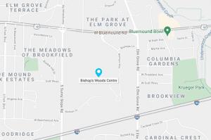 Bishop's Woods Map Brookfield WI